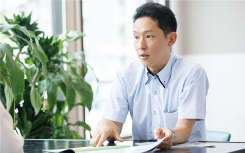 営業部長 松井浩紀