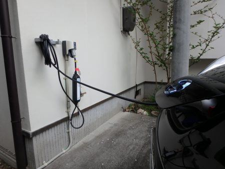 EV充電用コンセント