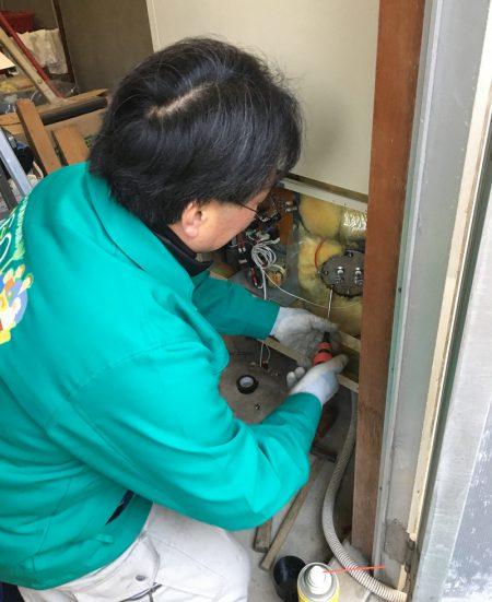 電気温水器修理